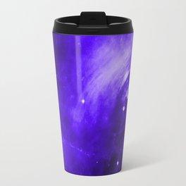 Crab Nebula Ultraviolet Travel Mug