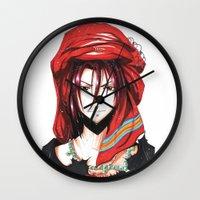 iwatobi Wall Clocks featuring Free! Iwatobi Swim Club Rin by Mistiqarts