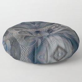 Crystal Glass Floor Pillow