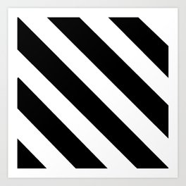 optical pattern 12 - strip Art Print