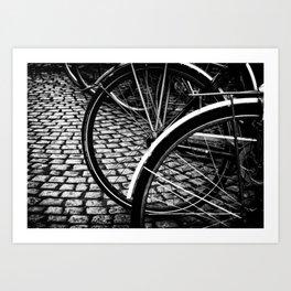 Squares And Circles Art Print
