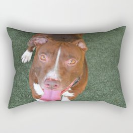 Prestigious Pitbull Rectangular Pillow