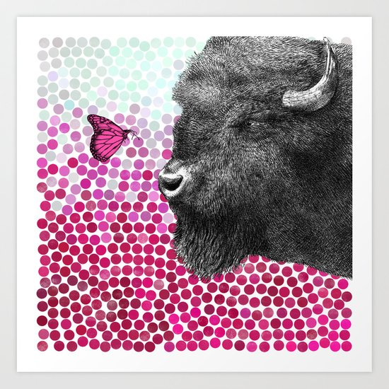 New Friends 4 by Eric Fan & Garima Dhawan Art Print