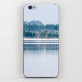Morning begins with mist iPhone Skin