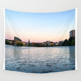 Clear & Blurry Lake Wall Tapestry