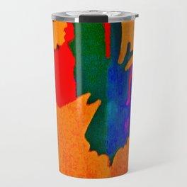 butterfly multicolor Travel Mug
