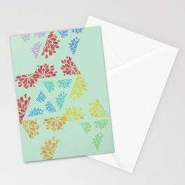 geo mintpop Stationery Cards