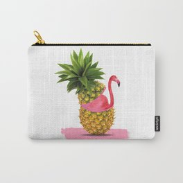 Flamingo party Carry-All Pouch