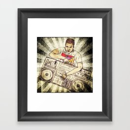 Radio Raheem Framed Art Print