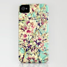 Nectarine Blossoms Slim Case iPhone (4, 4s)