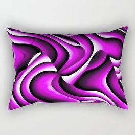 Fractale fuchsia Rectangular Pillow