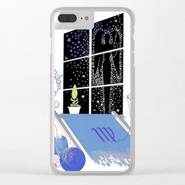 """Art Deco Design """"Virgil - Zodiac Series"""" by Erté Clear iPhone Case"""
