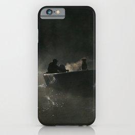 Dog in Fog iPhone Case