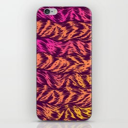 Fur Stripes iPhone Skin