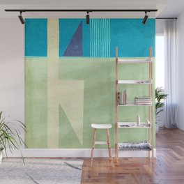 Solitaire du Figaro (blue) Wall Mural