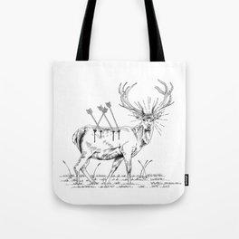 Deerhunting Tote Bag