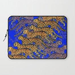 Indigo Cheetahs (Cobalt) Laptop Sleeve