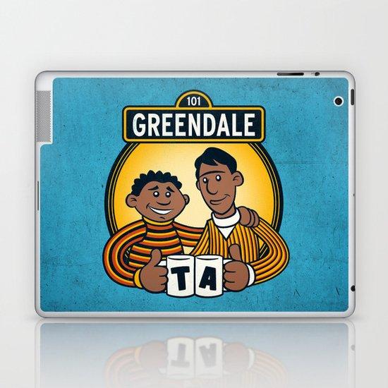Greendale Street Laptop & iPad Skin
