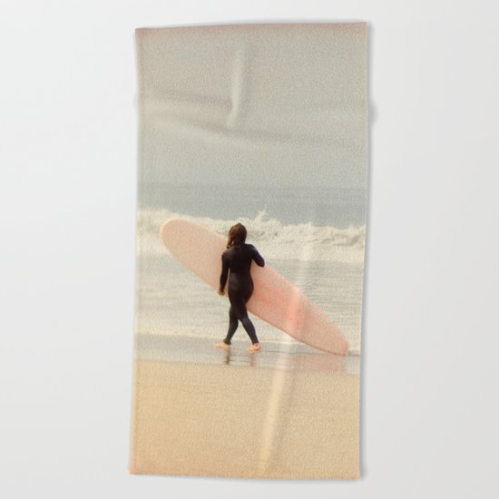 Surf Girl Beach Towel