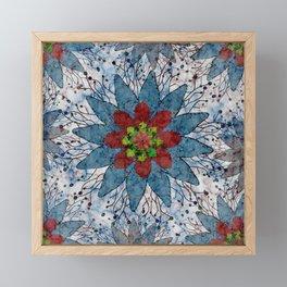 Marble Quilt Framed Mini Art Print
