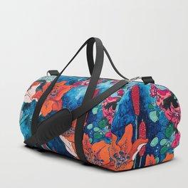Blooming Night Garden: Twilight Duffle Bag