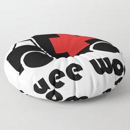 Wee Woo Ambulance Floor Pillow