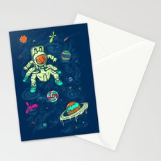 Antronaut And The Sugar Galaxy Stationery Cards