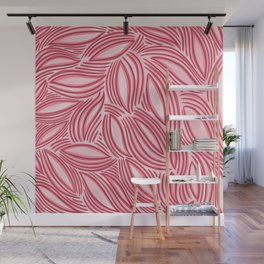 Red Leaves Wall Mural