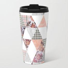 Pink Patterns Travel Mug