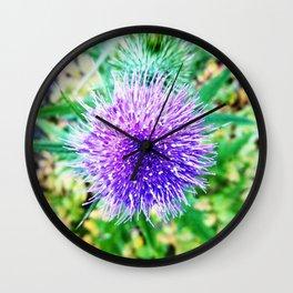 Beauty From Below Wall Clock
