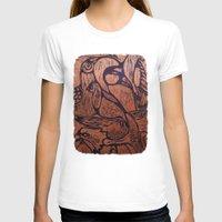 wesley bird T-shirts featuring bird      by Amy Fan