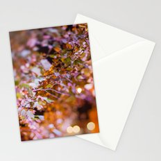 Nature and light abstract Stationery Cards
