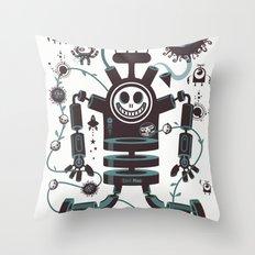 The Magic Garland Throw Pillow