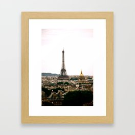 Paris from the Roof Framed Art Print