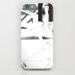 Typographical 29 iPhone Case