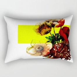 Vintage Bunch /Neon Block Rectangular Pillow