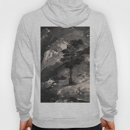 The Last Tree - black and white Hoody