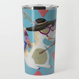 Happy Dino Summer Travel Mug