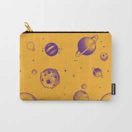 Orange and purple planetary, space rocks and energy! Carry-All Pouch