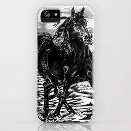 Black Ocean iPhone Case