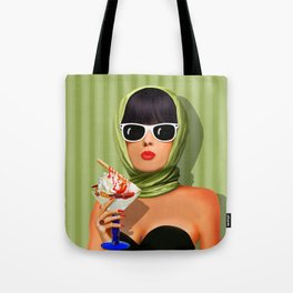 Summer love, summer ... sun and ice cream Tote Bag