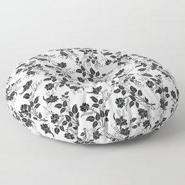 Freedom & Books & Flowers & Moon Floor Pillow