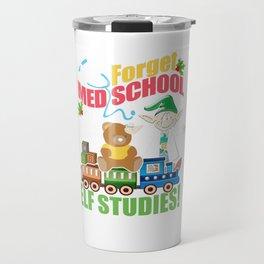 Medical School Funny Christmas Travel Mug