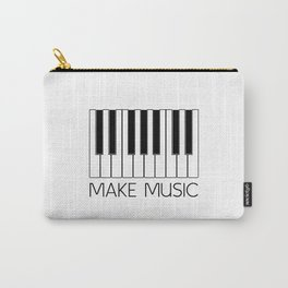 MAKE MUSIC Pianist GIFT Piano Teacher Music Carry-All Pouch
