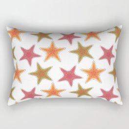 Fishtales: Starfish 8 pattern 1 Rectangular Pillow