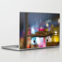 plane Laptop & iPad Skins featuring Plane by Sébastien BOUVIER