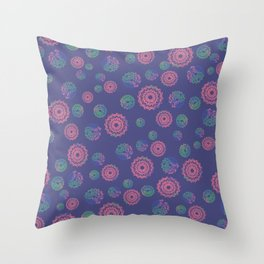 Colorful Dream Catcher Throw Pillow
