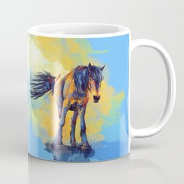 Horse in the Sunlight Coffee Mug
