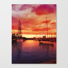 Spanish Marina II Canvas Print