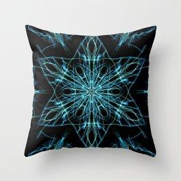 Alien Star Throw Pillow
